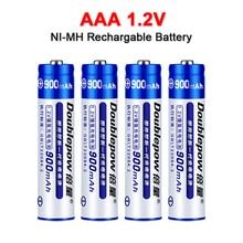 Новинка 1,2 в AAA Ni-MH перезаряжаемая батарея 900 мАч Ni-MH батареи AAA для электрической игрушечной батареи