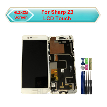 Tested ok For SHARP Z3 LCD Display With Touch Screen Digitizer Assembly Replacement With Tools+3M Sticker tested ok for sharp z3 lcd display with touch screen digitizer assembly replacement with tools 3m sticker