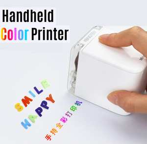 Handheld Printer Ink-Cartridge-App Text Barcode Mbrush Customized Color Mini Portable