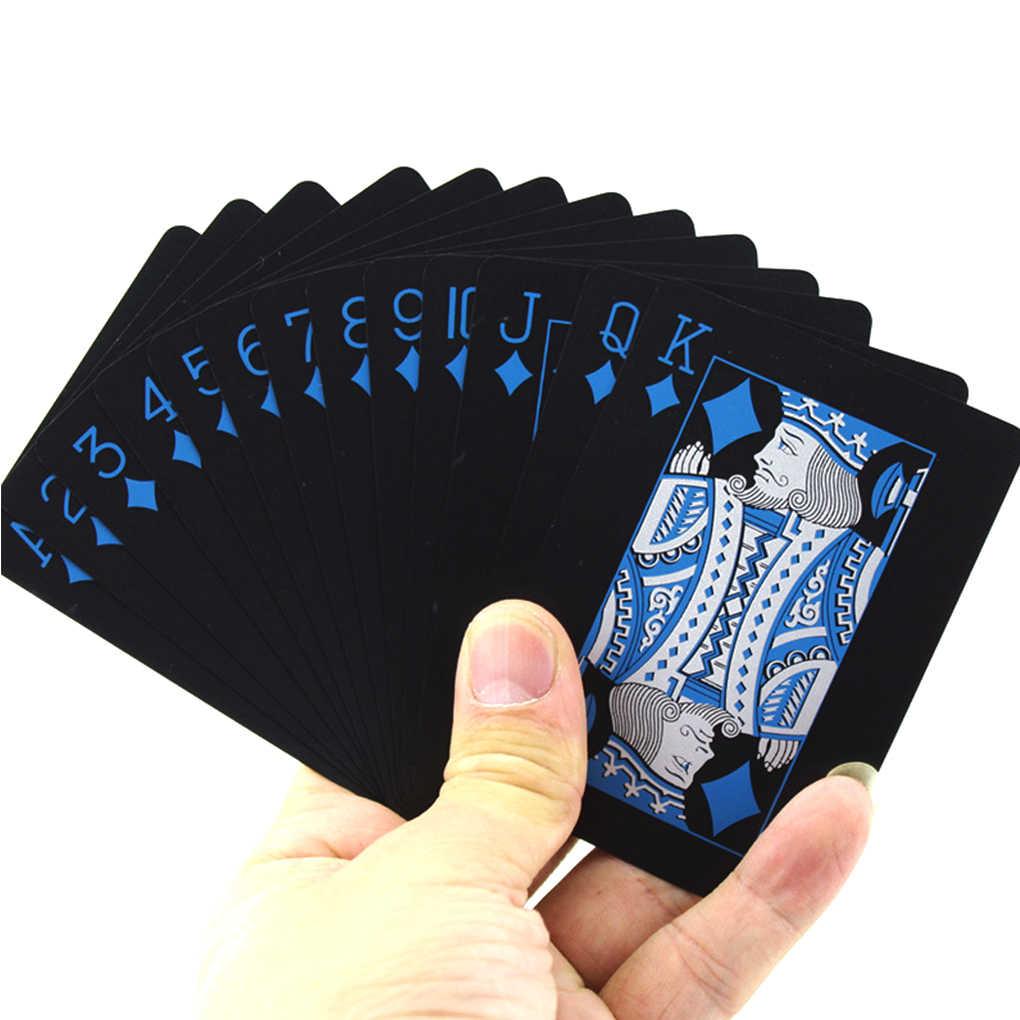 54 pièces/ensemble étanche carte à jouer jeu de société fête divertissement Standard cartes à jouer PVC