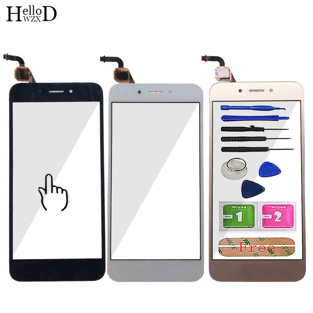 Touch Screen For Huawei Honor 6A DLI-TL20 DLI-AL10 DLI-L22 DLI-L01 Touch Screen Panel Lens Sensor Digitizer Front Outer Glass