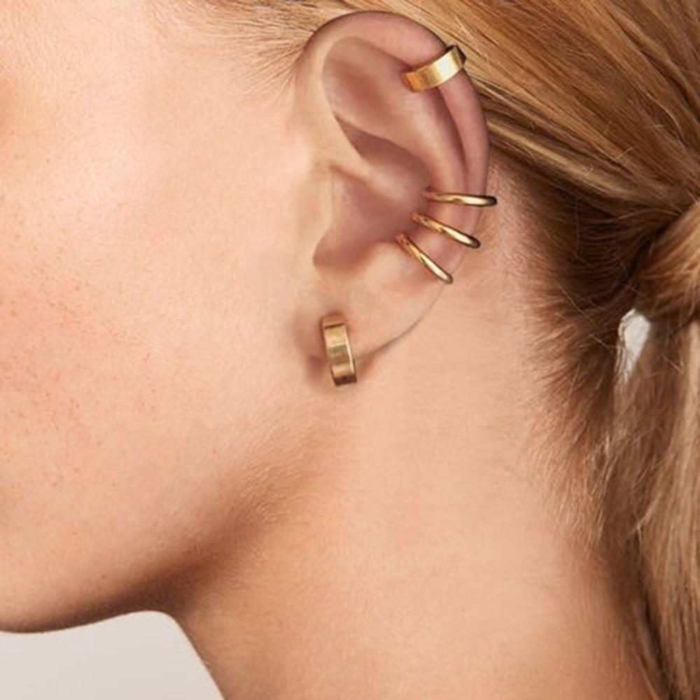 2PCS-Clip-on-Body-Nose-Lip-Ear-Fake-Retractable-Earrings-Hoop-Earrings-Septum-Ear-Studs-Women
