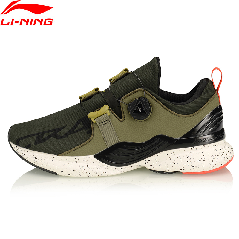 Li-Ning Men CRAZYRUNX Cushion Running Shoes Wearable Anti-Slippery LiNing Fitness Breathable Sport Shoes Sneakers ARHP135 XYP955