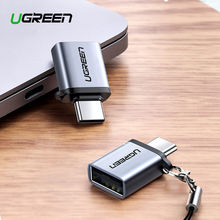 Ugreen usb c адаптер type к 30 thunderbolt 3 otg кабель для