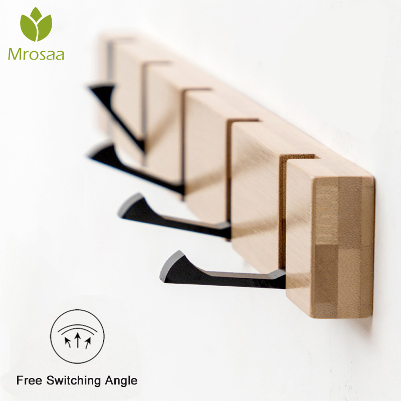 Foldable Hooks Hanger Holder Clothes Storage Hide Hook Wall Hanging Hanger Home Decor Hanger Accessories Hooks Coat Hooks Rack