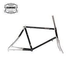 20 cal rama rowerowa Reynolds 4130 chrom stal molibdenowa droga rama rowerowa srebrny lug rama dostosuj 451 rama rowerowa rower
