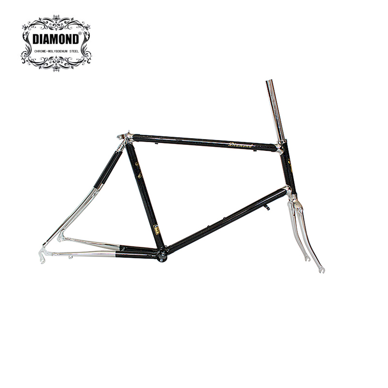 20 Inch Bike Frame Reynolds 4130 Chrome Molybdenum Steel Road Bike Frame Sliver Lug Frame Customize 451 Bike Frame Bicycle