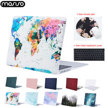 Funda dura para portátil MOSISO para Macbook Air Retina Pro 13 15 touch bar A1706 A1989 A2159 A1989 A1932 Mac Air 13 funda 2019 nuevo(China)