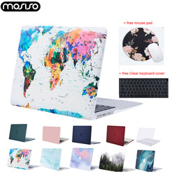 MOSISO Hard Laptop Case for Macbook Air Retina Pro 13 15 touch bar A1706 A1989 A2159 A1989 A1932 Mac Air 13 Case Cover 2019 New