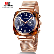 Tevise Mechanical Watches Men Business A