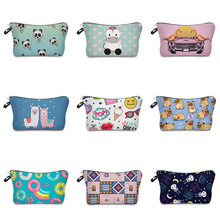 Vogvigo Cartoon Animal  Makeup Bags With Cosmetics Pouchs For Travel Ladies Pouch Women Cosmetic Bag