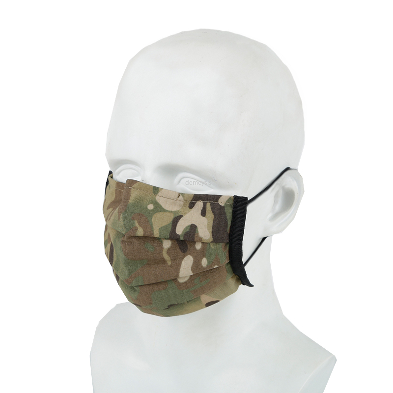 Military Tactical Mask Hunting Shooting Mouth Face Mask Washable Recycle Cs Earloop Protection Dustproof Disposable Masks Cover