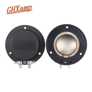 GHXAMP 44,5 мм 45 сердечник Тройная звуковая катушка медный плакированный круглый алюминиевый провод импортный титановый пленочный вход 44,4 Кату...