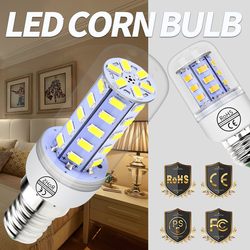 Corn Bulb E27 Led Lamp Candle E14 220V Led 5730 SMD 24 36 48 56 69 72led Energy Saving Lamp G9 Bulbs Home GU10 Ampoule Led B22
