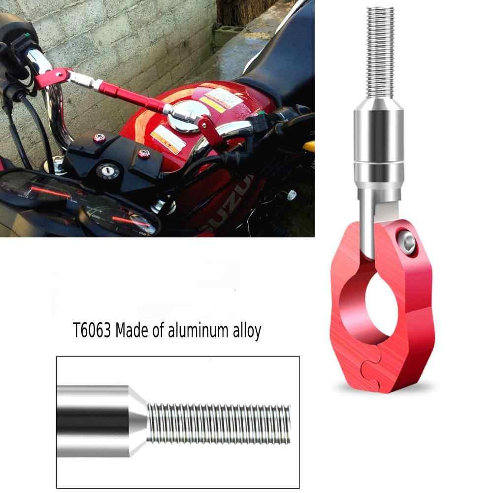 """Universal 7/8 """"22mm CNC aluminio motocicleta manillar Cruz barra plegable Flexible manillar"""