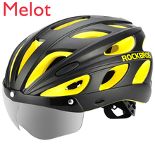Riding Helmet Mountain Bike Helmet Safety Cap with Goggles Integrated Molding Men's and Women's Equipment