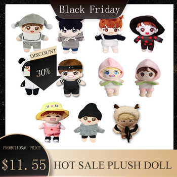 Korea Kawaii Plush Dolls Toy Cartoon Stuffed Doll With Clothes PP Cotton Cute Soft Dolls Collection Fans Gift Toys For Kid Gifts - SALE ITEM - Category 🛒 Toys & Hobbies