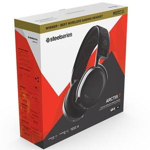 Image 3 - 2019 Edition SteelSeries Arctis 7 Gaming Headset High  DTSXv2.0 7.1 Wireless game headset Headphone wear belt wheat