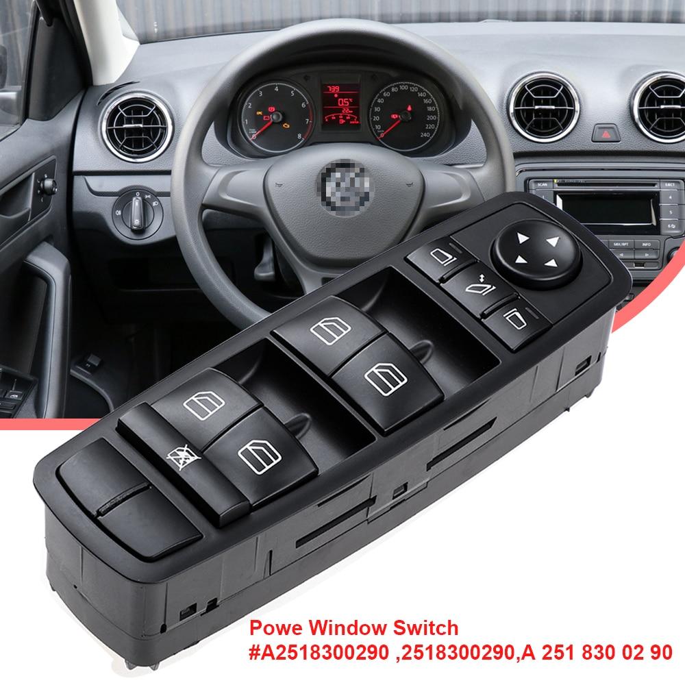 YAOPEI güç pencere anahtarı 2518300290 A2518300290 A 251 830 02 90 Mercedes W164 GL320 GL350 GL450 ML320 ML350 ML450