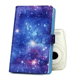 Image 5 - Fujifilm Instax Mini 9 8 Camera Accessories Bundle Kit Shoulder Bag Case 96 Pockets Photo Album Film Frames Filters Selfie Set