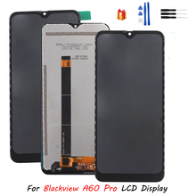 Para blackview a60 pro display lcd de toque digitador da tela assembléia original display lcd blackview para bv a60 pro