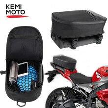 Motorcycle Bag Backpack Waterproof Tail Moto Bag Rear Seat Tool Saddlebag Shoulder Storage Bag Oxford For Yamaha For Kawasaki
