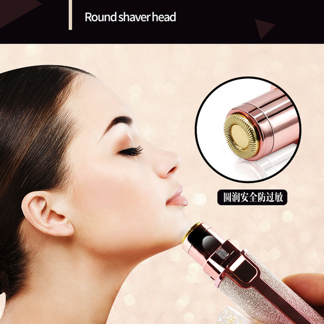 Electric Eyebrow Trimmer 2-in-1 Epilator Makeup Painless Eye Brow Mini Shaver Razors Portable Facial Hair Remover Women depilato 3