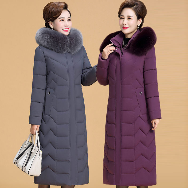 5XL 6XL Plus Size Women Winter Jacket Middle-Aged Women's Sweaters/Coat