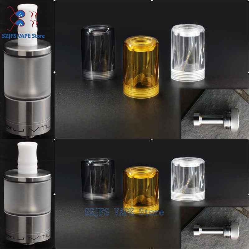 Yftk Style Dvarw V2 MTL RTA 22mm 5ml Vape Tank For 510 Thread Electronic Cigarettes Vape Mod Vs Sine Mtl Rta Vapor Giant V5 V6s