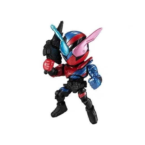 Image 2 - Original Bandai Kamen Rider Anthem no.3 Zi O Zero One Gashapon figure setAction & Toy Figures   -