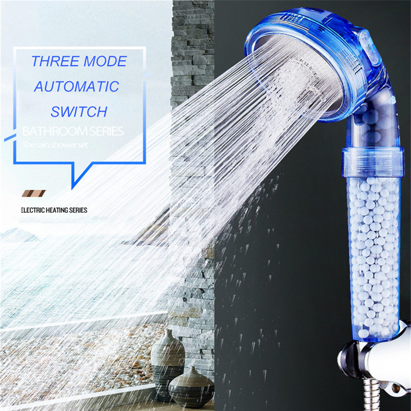 Negative Ion Shower Tomaline Shower Booster Water Saving Handheld Booster Shower Head Large Shower Head Anti Limestone 30A29