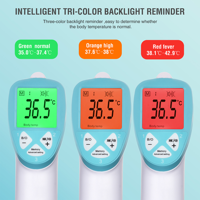 Medical Electronic Thermometer New Generation Digital Infrared Body Thermometer Gun Neonatal Adult Fever Termoscanner Febbre