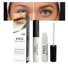 Feg sobrancelhas cílios realçador original crescimento sobrancelha soro longo mais grosso cosméticos cílios crescimento líquido tslm2