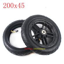 Rozmiar 200*45 opona skuter elektryczny montaż części 8 cal 200 #215 45 pneumatyczne wewnętrzne i zewnętrzne opony 8 #215 1 4 cal wewnętrzne i zewnętrzne-porownywarka-opon pl tanie tanio CHENXUANJI 3 8inch 21inch 15inch 200x45 0 4kg rubber 200x45 tyre