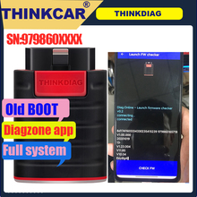 Old Boot Diazgone ThinkDiag PK Thinkdiag ALL Car Brands All Reset Service 1 Year Free OBD2 Diagnostic Tool Active Test ECU Code