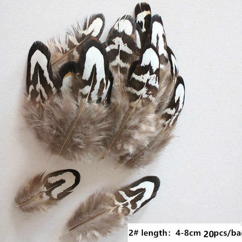 10 unids/lote Super hermosa pluma de faisán natural joyería plumas de ganso ropa sombrero DIY veren decoratie carnaval fiesta plumas