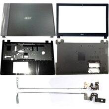 NEW Black Laptop LCD Back Cover/Front Bezel/Hinges/Palmrest/Bottom Case For Acer Aspire V5-571 V5-531 V5-571G V5-531G цена 2017