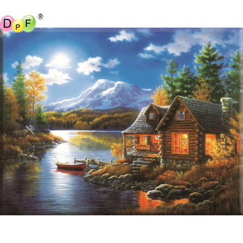 5D DIY Diamond Painting Hourse round/square Cross Stitch Diamond Embroidery kits Diamond Mosaic home Decorative drill image