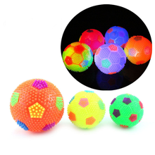 Squeak-Ball-Toys Toys-Supplies Light Play-Ball Puppy Pet-Training Interactive Chew Durable
