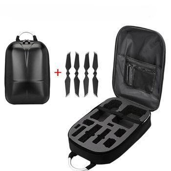 Fiber Hardshell Backpack Waterproof Anti-Shock For DJI Mavic 2 Pro D08A