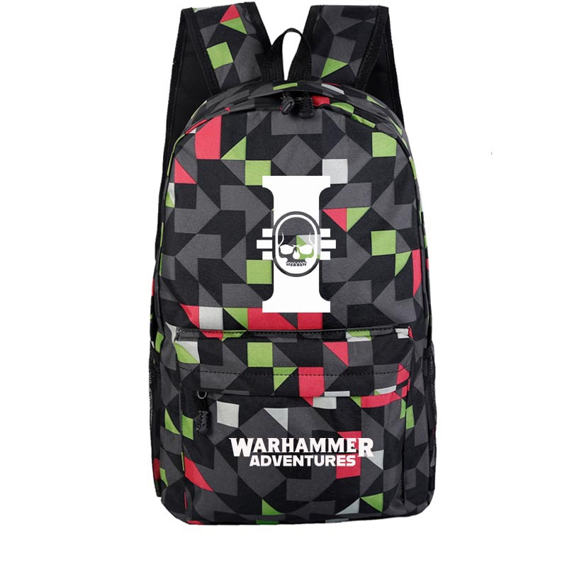Warhammer Backpack School Bag A Generation Of Fat Cross-border Exclusively For Wholesale Custom