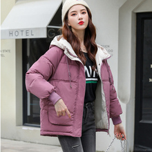 Korean Parka Women Winter Jacket Women Coat Thick Warm Parkas Outerwear Hooded Jacket Plus size XXXL Female Coat Puffer Jacket