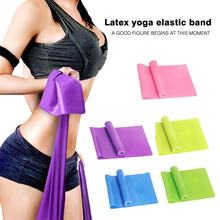 Sport Gym Fitness Yoga Apparatuur Krachttraining Elastische Resistance Bands Workout Yoga Rubber Loops Sport Pilates Band(China)