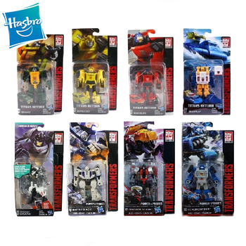 Hasbro Transformer Legends Power of The Primes Diagonal Shrapnel Battery Action Figure Deformation Robot Transformation Kids Toy image