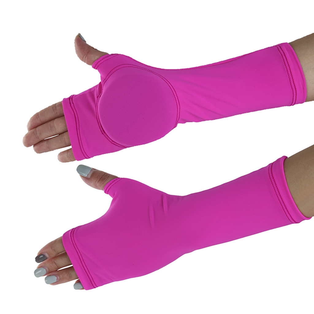 Figure Skating Gloves Palm Hand Guard Sports Protective Gear For Child Adult Skateboarding Roller Ice Skating
