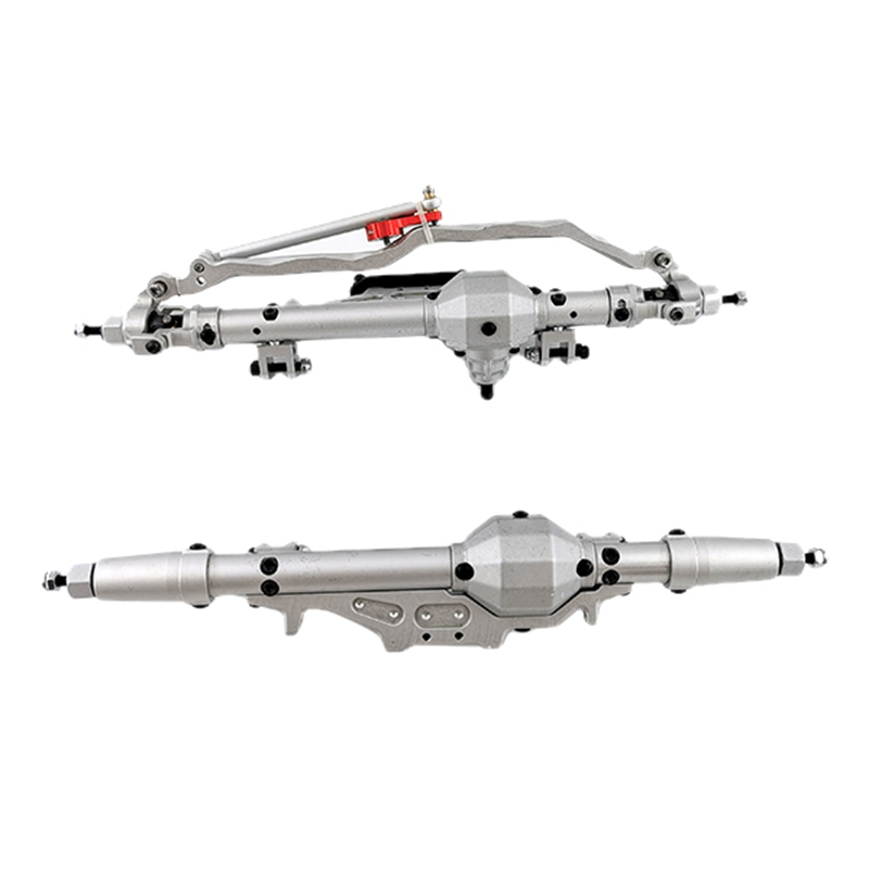 Axial For Wraith RR10 90048 CNC Alloy Metal Front + Rear Axle 1/10 Rc Car
