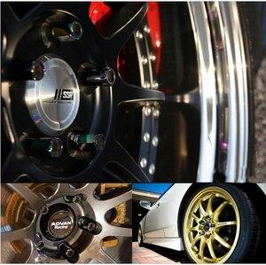 Image 5 - 20 Uds Racing Modificación de coche tuerca de neumático M12x1.5 tuercas de rueda para Honda, Toyota, Mitsubishi, Hyundai, Mazda, Kia,Subaru,Suzuk