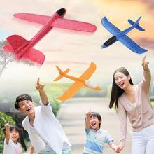 DIY Hand Throw Flying Glider Planes Toys for Children Foam Aeroplane Model Plane Toys for Kids Flying Glider Party Game Toy Gift