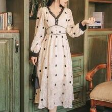 Винтажное платье для женщин элегантное вечернее во французском