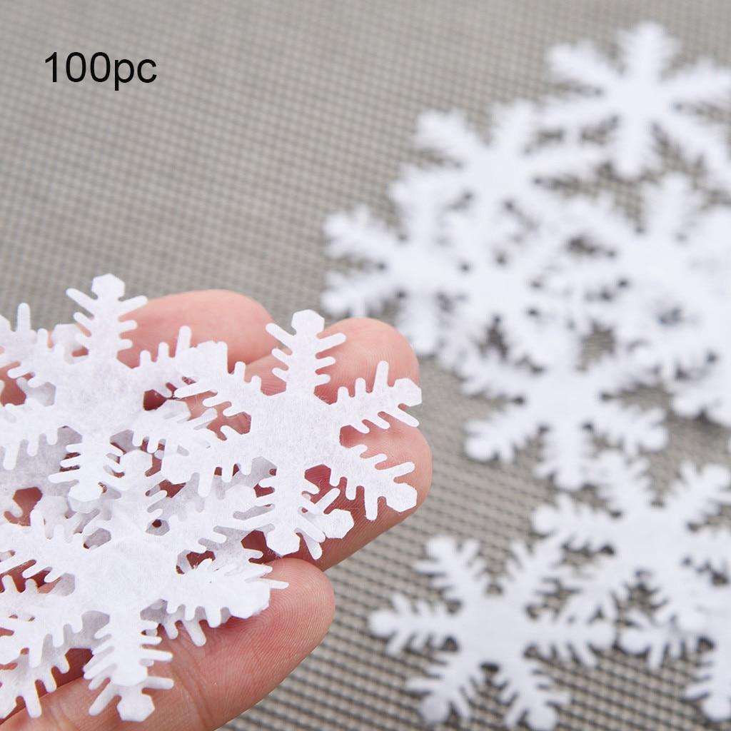Classic 12pc Glitter Hanging Snowflake Christmas Decoration Frozen Tree Ornament